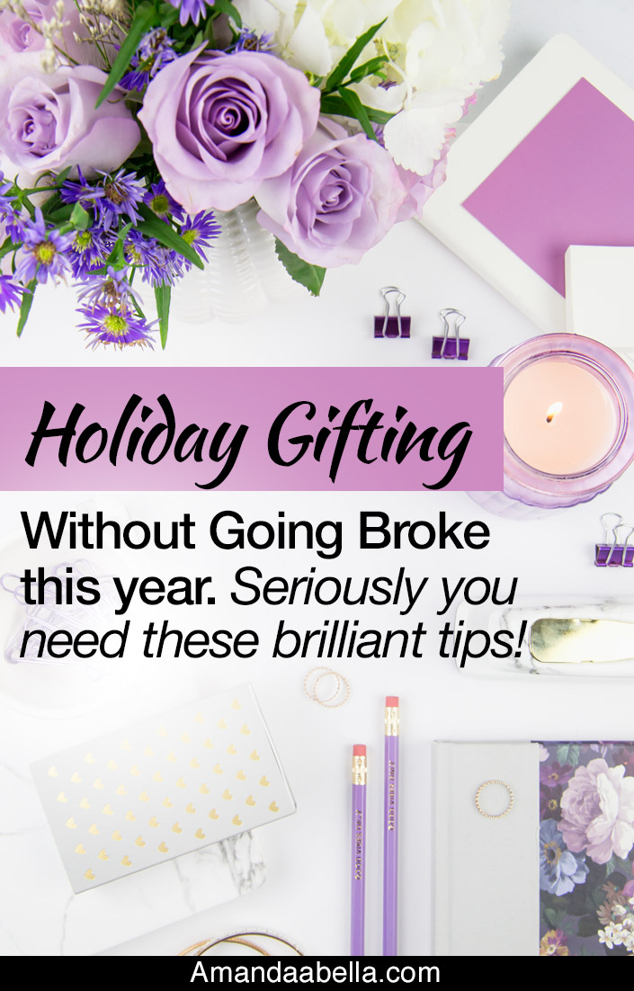 Holiday gifting without going broke