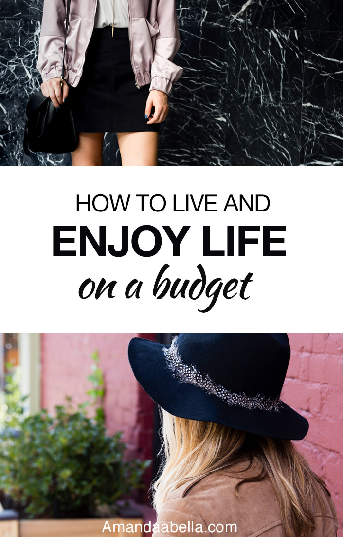 enjoy life on a budget