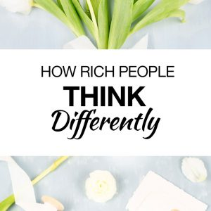 How Rich People Think Differently