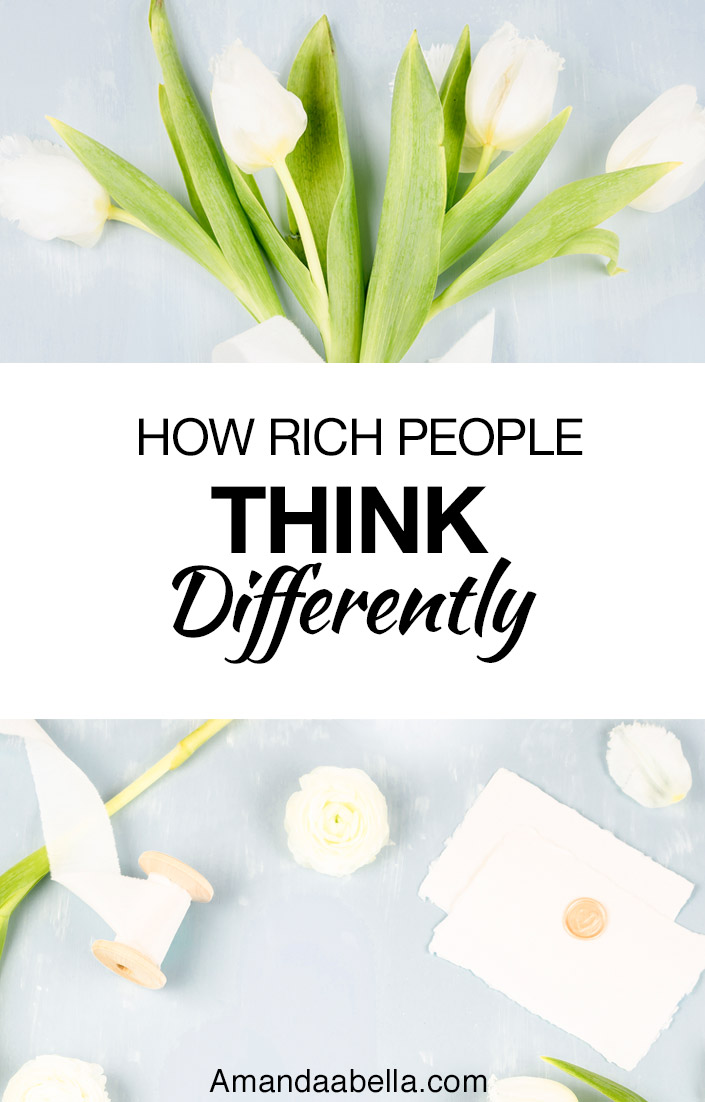 rich people think differently
