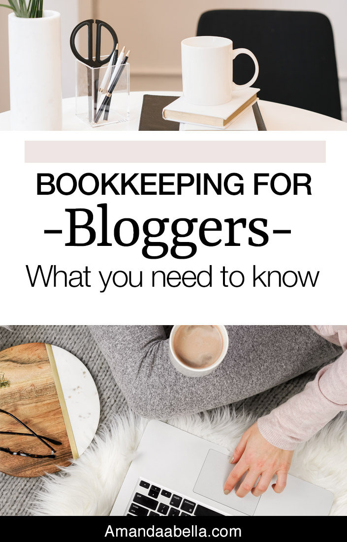 Bookkeeping For Bloggers What You Need To Know Amanda Abella